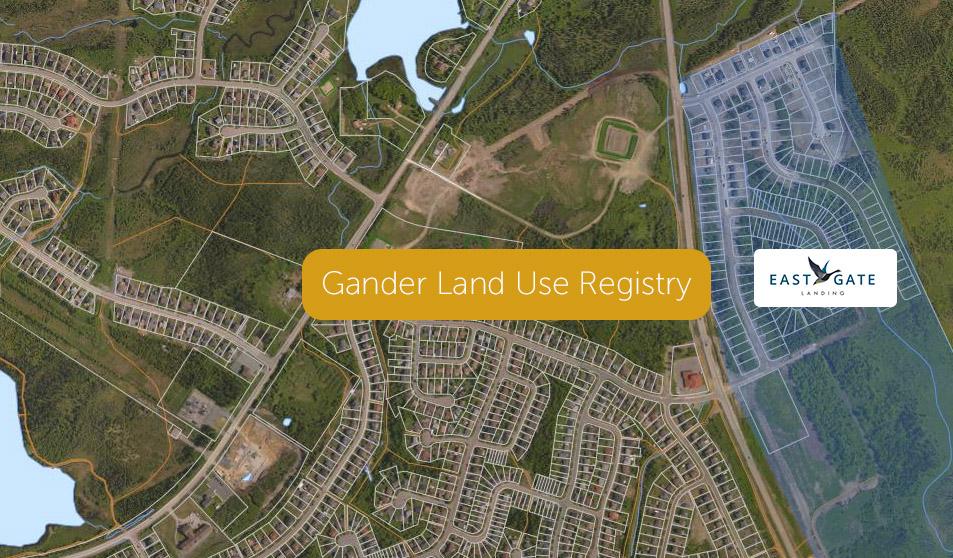 GIS Map Of Gander